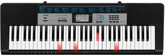 Синтезатор Casio LK-136 61клав. черный цена и фото