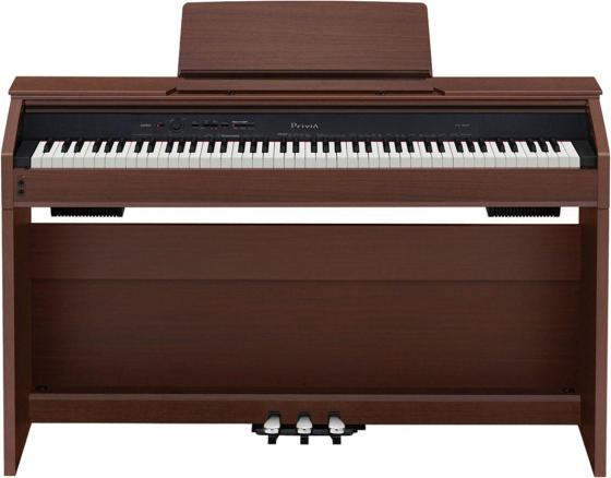 Цифровое фортепиано Casio CELVIANO AP-270BN 88клав. коричневый цена и фото