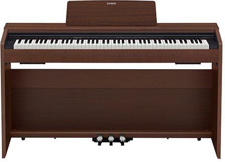 Цифровое фортепиано Casio PRIVIA PX-870BN 88клав. коричневый цена и фото