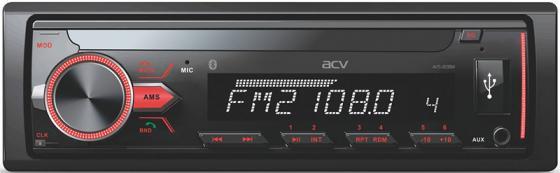 Автомагнитола ACV AVS-813BM 1DIN 4x50Вт автомагнитола acv avs 1722gd