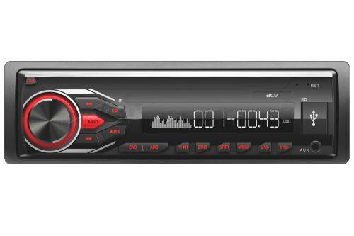 Автомагнитола ACV AVS-1712R 1DIN 4x45Вт автомагнитола acv avs 1712w 1din 4x45вт