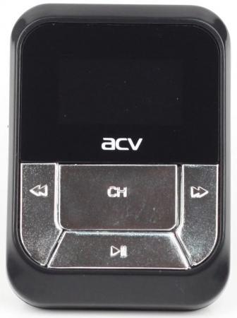 Автомобильный FM-модулятор ACV FMT-112 черный MicroSD USB PDU (18069)