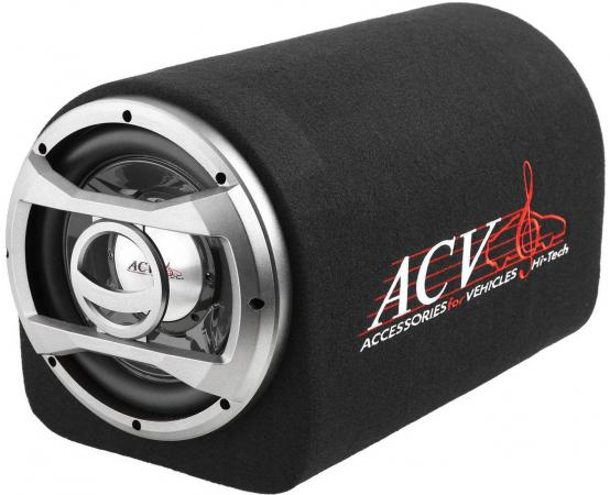 Сабвуфер автомобильный ACV BTA-12 150Вт активный (30см/12) сабвуфер автомобильный kicx gt500bpa 500вт активный 30см 12