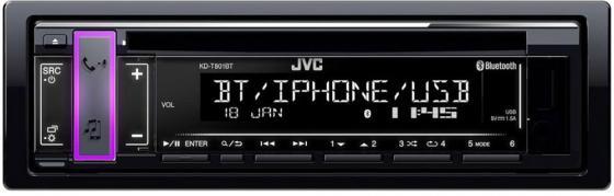 лучшая цена Автомагнитола CD JVC KD-T801BT 1DIN 4x50Вт