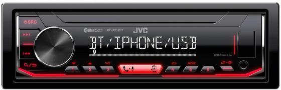 Автомагнитола JVC KD-X362BT 1DIN 4x50Вт автомагнитола jvc модельный ряд