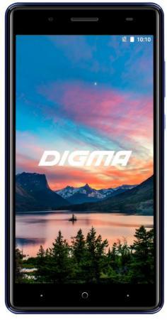 цена на Смартфон Digma HIT Q500 3G синий 5 8 Гб Wi-Fi GPS 3G HT5035PG