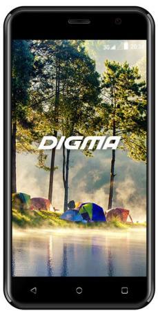 Смартфон Digma LINX JOY 3G серый 5 4 Гб Wi-Fi GPS 3G Bluetooth