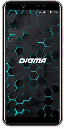 цена на Смартфон Digma LINX PAY 4G золотистый 5.45 16 Гб LTE Wi-Fi GPS 3G Bluetooth