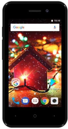 Купить Смартфон Digma HIT Q401 3G черный 4 8 Гб Wi-Fi GPS 3G Bluetooth HT4039PG