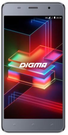Смартфон Digma LINX X1 PRO 3G серый 5 16 Гб Wi-Fi GPS 3G Bluetooth