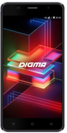 цена на Смартфон Digma LINX X1 PRO 3G черный 5 16 Гб Wi-Fi GPS 3G Bluetooth