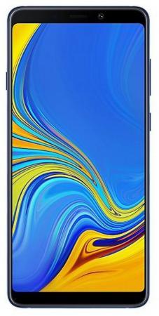 Смартфон Samsung Galaxy A9 2018 синий 6.3 128 Гб NFC LTE Wi-Fi GPS 3G Bluetooth SM-A920FZBDSER смартфон samsung galaxy j6 2018 золотистый 5 6 32 гб lte wi fi gps 3g