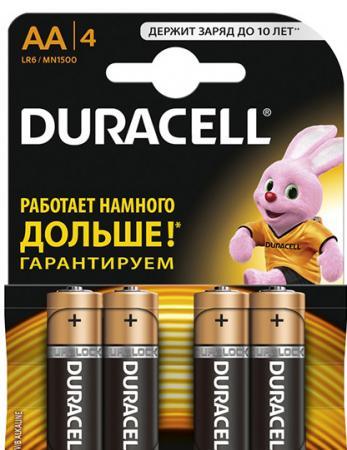 Батарейки DURACELL Ultra Power AA 4 шт Б0038761 батарейки panasonic alkaline power lr6reb 4bp aa 4 шт