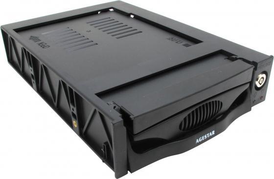 "все цены на Сменный бокс для HDD AgeStar SR3P-K-2F SATA пластик черный 3.5"" онлайн"