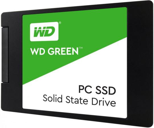 Накопитель SSD WD Original SATA III 480Gb WDS480G2G0A Green 2.5 ssd накопитель wd original 120gb wds120g2g0b green
