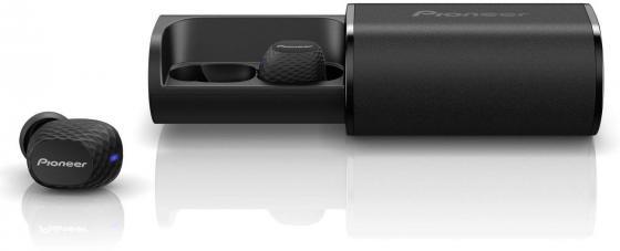 Гарнитура вкладыши Pioneer SE-C8TW-B черный беспроводные bluetooth (в ушной раковине) гарнитура motorola verve loop вкладыши черный беспроводные bluetooth