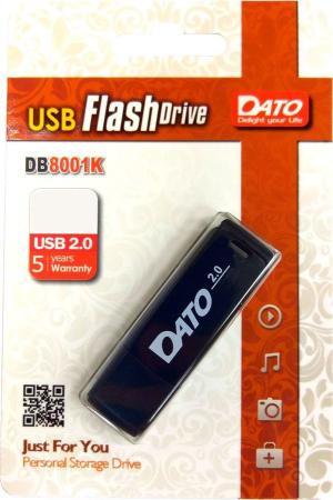 Флеш Диск Dato 8Gb DB8001 DB8001K-08G USB2.0 черный цены онлайн
