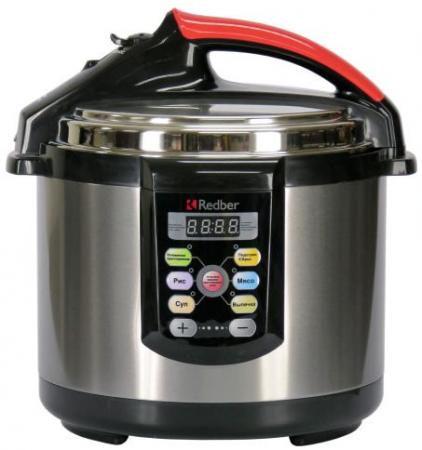 Мультиварка Redber MC-D411 800 Вт 4 л серебристый все цены