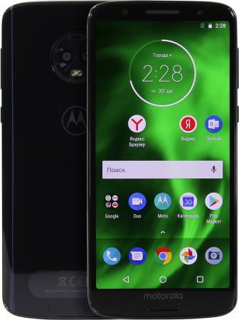 "Смартфон Motorola Moto G6 синий 5.7"" 32 Гб LTE Wi-Fi GPS 3G Bluetooth 4G цена в Москве и Питере"