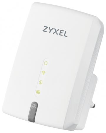 Повторитель беспроводного сигнала/мост Zyxel WRE6602-EU0101F AC1200 Wi-Fi белый повторитель беспроводного сигнала upvel ua 342nr