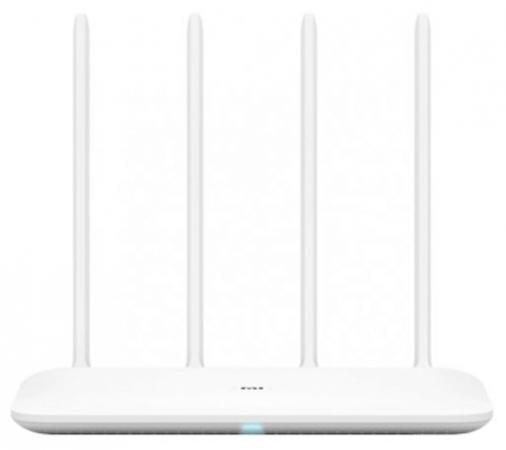 все цены на Маршрутизатор беспроводной Xiaomi Mi WiFi Router 4 (4) 10/100/1000BASE-TX белый онлайн