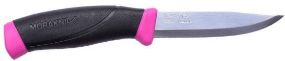 Нож Mora Companion (12157) стальной разделочный лезв.103мм прямая заточка малиновый нож morakniv companion black длина лезвия 103мм