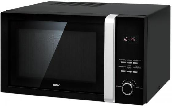 Микроволновая печь BBK 23MWS-828T/B 800 Вт чёрный микроволновая печь bbk 23mws 822m b