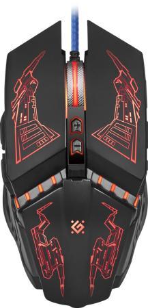 цена на Мышь игровая Halo Z GM-430L оптика, USB, 7кнопок, 3200dpi DEFENDER