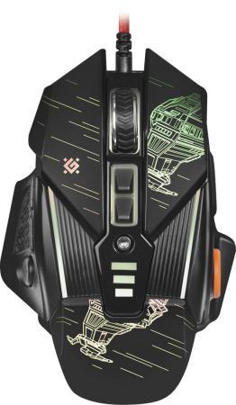 Фото - Мышь проводная Defender sTarx GM-390L чёрный USB мышь проводная defender venom gm 640l чёрный usb 52640