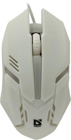 Мышь проводная Defender Сyber MB-560L белый USB taiwai tr 560l вариегата