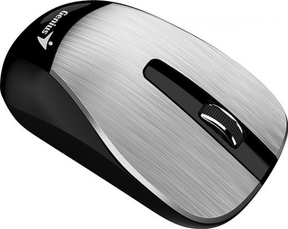 Мышь беспроводная Genius ECO-8015 Silver серебристый USB