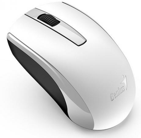 Мышь беспроводная Genius ECO-8100 White белый USB + радиоканал стоимость