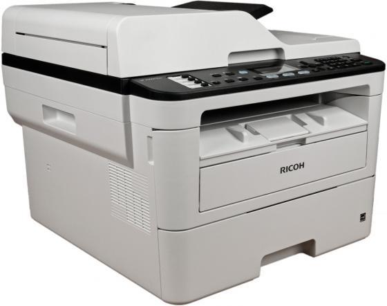 Фото - МФУ Ricoh SP 230SFNw <картридж 700стр.> (копир-принтер-сканер-факс, ADF, 30стр./мин., 1200x600dpi, LAN, WiFi, NFC, A4) мфу canon i sensys mf744cdw копир цветной принтер сканер dadf duplex 27стр мин 1200x1200dpi fax wifi lan a4 замена mf734cdw