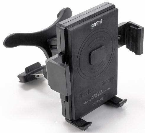 Фото - Беспроводное зарядное устройство Gmini GM-WCC-001 1.5А черный беспроводное зарядное устройство gmini gm wct tc01v8 1a microusb желтый