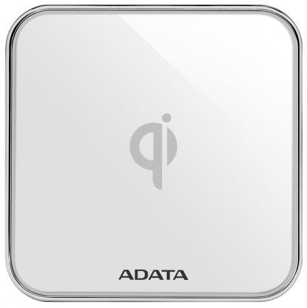 Беспроводное зарядное устройство A-Data CW0100 2А microUSB белый ACW0100-1C-5V-CWH беспроводное зарядное устройство samsung ep ng930twrgru microusb 2а белый