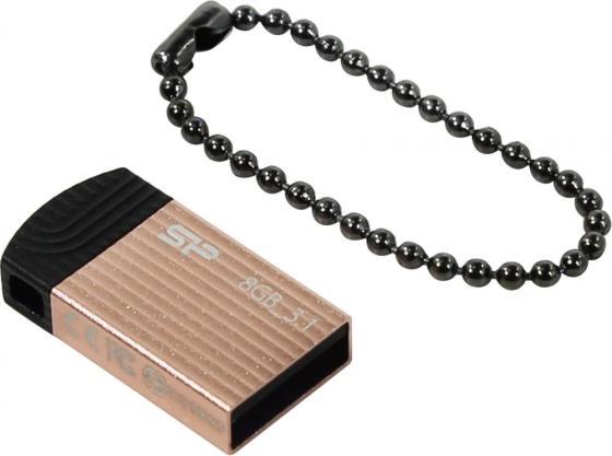 Флеш накопитель 8Gb Silicon Power Jewel J20, USB 3.1, Розовый