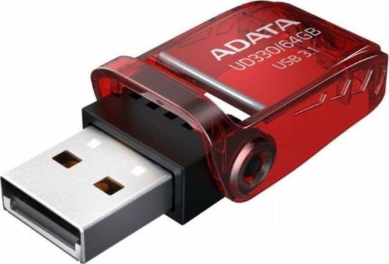 Фото - Флеш накопитель 64GB A-DATA UD330, USB 3.1, Красный suspense a napoleonic novel