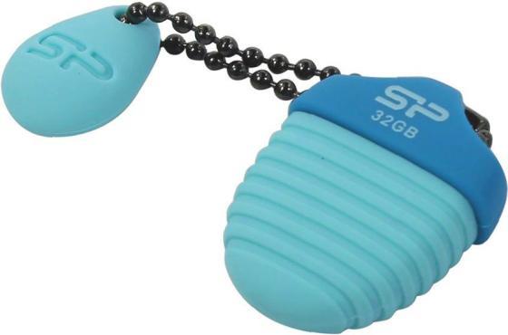 Фото - Флеш накопитель 32GB Silicon Power Touch T30, USB 2.0, Синий накопитель usb 2 0 32gb silicon power touch 810 sp032gbuf2810v1b синий
