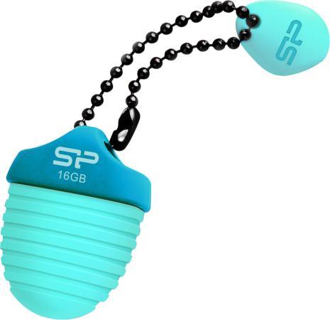 Фото - Флеш накопитель 16GB Silicon Power Touch T30, USB 2.0, Синий флеш накопитель silicon power 16gb touch t08 usb 2 0 белый sp016gbuf2t08v1w