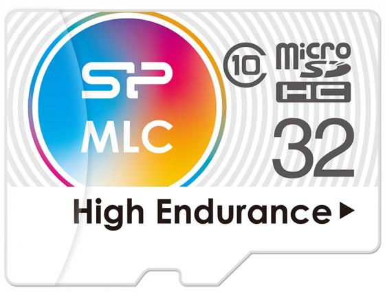 Флеш карта microSD 32GB Silicon Power High Endurance microSDHC Class 10 UHS-I U3 (SD адаптер), MLC silicon power microsdhc class 10 16gb карта памяти sd адаптер