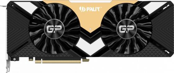 Видеокарта Palit nVidia GeForce RTX 2080 Ti GamingPro PCI-E 11264Mb GDDR6 352 Bit Retail NE6208TT20LC-150A видеокарта palit geforce gtx 1080 ti 1620mhz pci e 3 0 11264mb 11000mhz 352 bit hdmi super jetstream neb108ts15lc 1020j