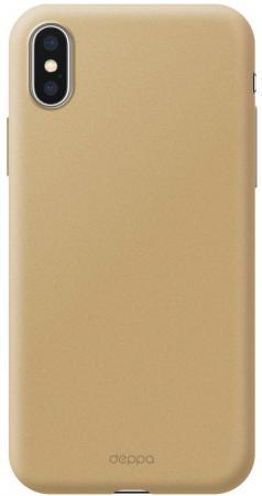 Купить Чехол Deppa Чехол Air Case для Apple iPhone Xs Max, золотой, Deppa