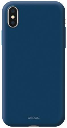 Купить Чехол Deppa Чехол Air Case для Apple iPhone Xs Max, синий, Deppa