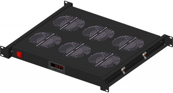 Модуль вентиляторный 19, c контроллером, чёрный 1U, 6 вентиляторов, NT FAN Pro 6 B