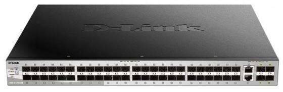 Коммутатор D-Link DGS-3130-54S/A1A Управляемый стекируемый коммутатор 3 уровня с 48 портами 1000Base-X SFP, 2 портами 10GBase-T и 4 портами 10GBase-X