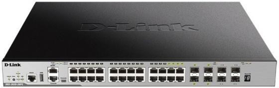 Коммутатор D-Link DGS-3630-28PC/A1ASI Управляемый стекируемый коммутатор 3 уровня с 20 портами 10/100/1000Base-T, 4 комбо?портами 100/1000Base-T/SFP и