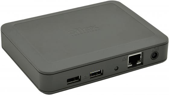 Сервер USB-устройств SILEX DS-600 Порты: 1 x USB 2.0, 1 x USB 3.0 HiSpeed Сеть: 10/100/1000 Mbit/s Gigabit Ethernet, RJ45 Silex Virtual USB Port