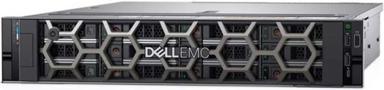 Сервер Dell PowerEdge R540 2x5118 Gold, 2x32GB, 1x1TB SATA HotPlug (up 8x3.5), H730p+/2Gb NV, DVDRW, 4x1GbE, iD9 Ent, 1x750W, Bezel/Rack Rails, 3y NBD