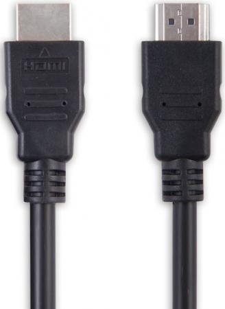Кабель HDMI 5м Belsis BW1429 круглый черный цена