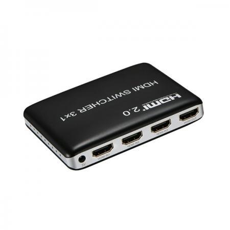Фото - Переходник HDMI ORIENT HS0301H-2.0 черный 30750 переходник